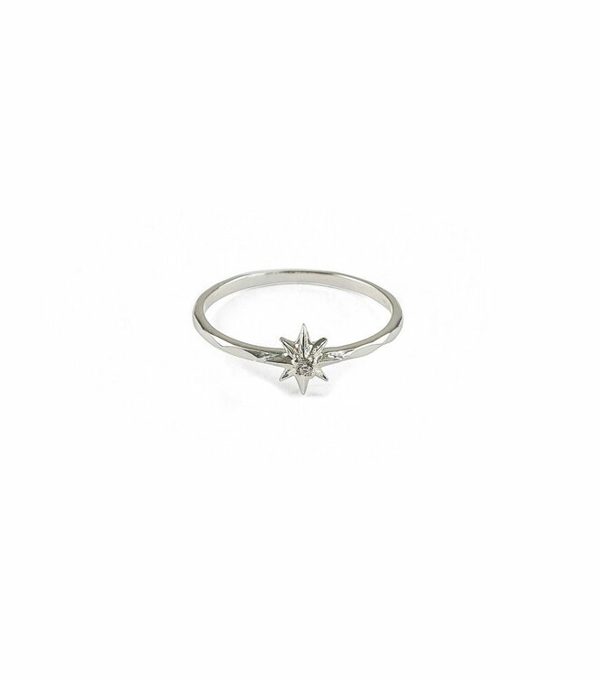 North Star Small Ring Silver Syster P