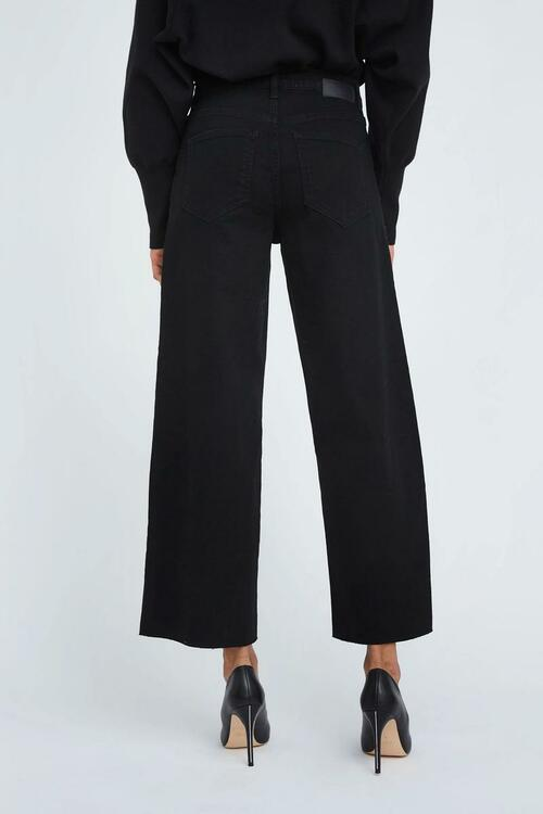 Abby Ankle Raw 241 Black Five Units