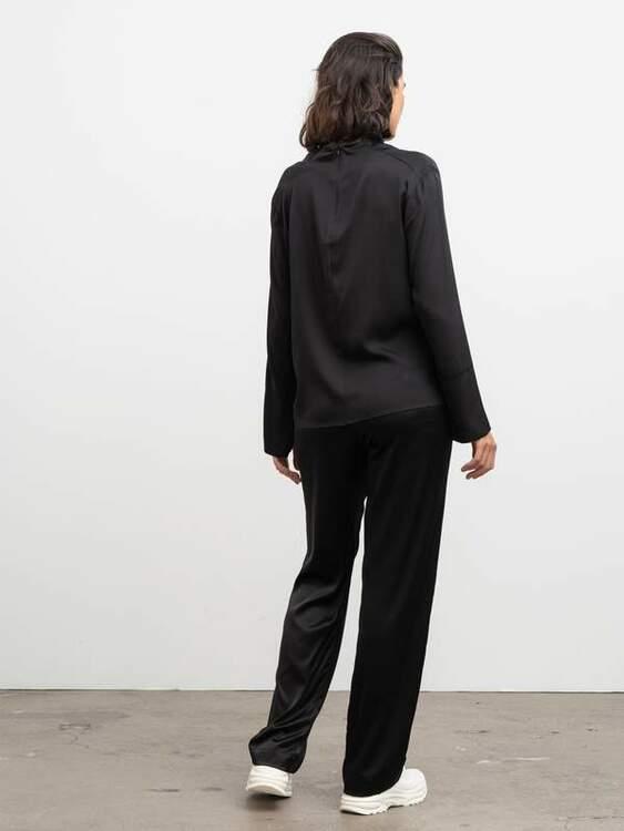 Ayumi Blouse Black Ahlvar Gallery