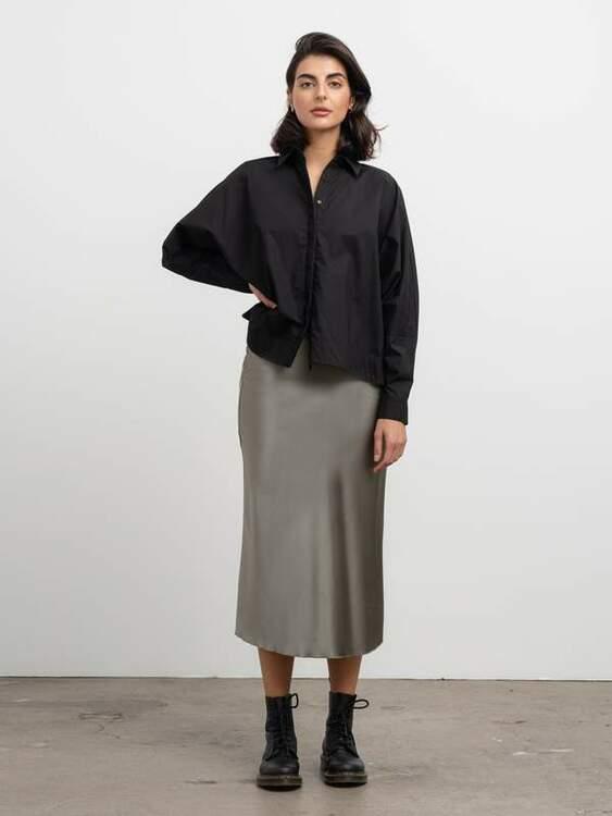 Gigi Shirt Black Ahlvar Gallery