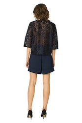 City Hall Lace Blouse GANNI