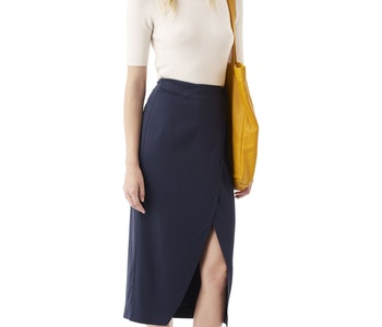 White Tailor Skirt GANNI