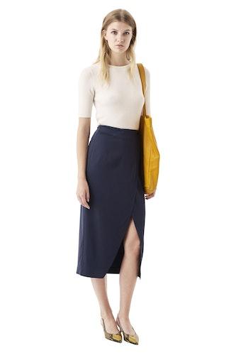 White Tailor Skirt GANNI