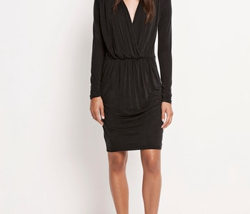 Trinny v-neck Dress Samsoe Samsoe