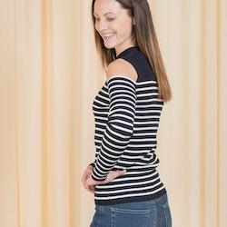 Tess Offshoulder Pullover Just Female