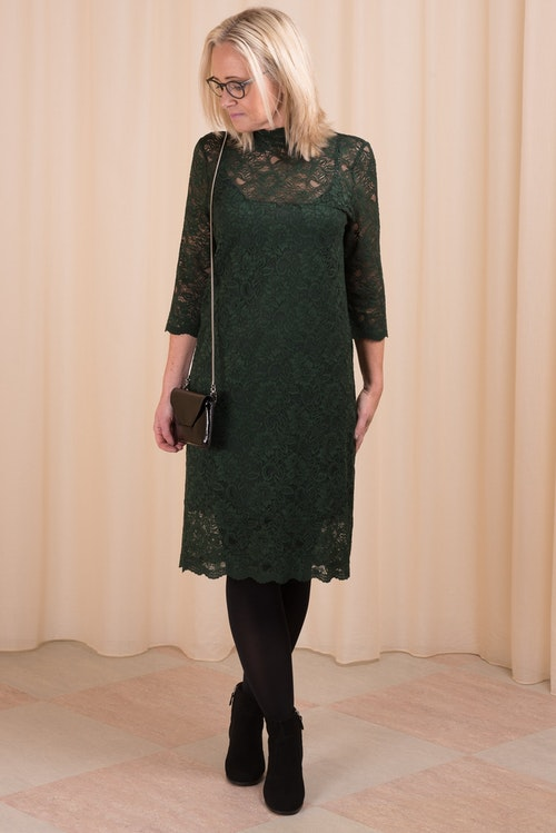 Kendal Silk Dress Ganni