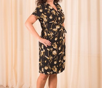 Elay Wrap Dress Just Female