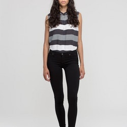Kissy Black Dr Denim