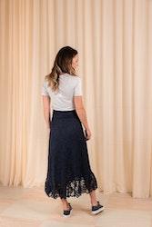 Flynn Lace Skirt Ganni