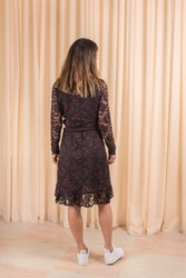 Flynn Lace Dress Ganni