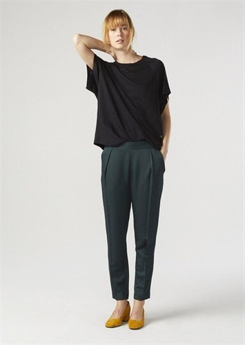 Elin Trousers Forest Twist & Tango
