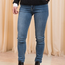 Regina Worn Mid Blue Jeans Dr Denim