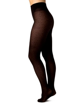 Emma Leopard Brown Swedish Stockings