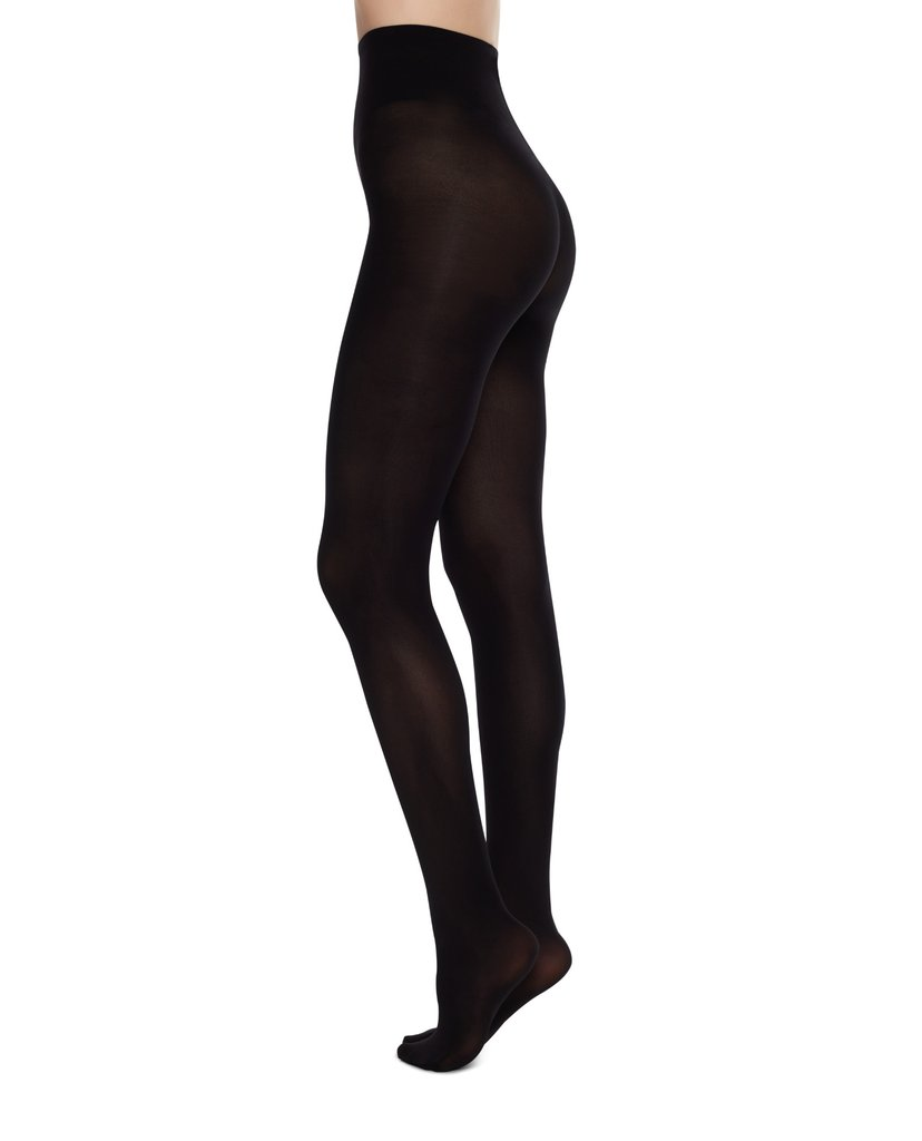 Olivia Premium Black Swedish Stockings