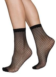 Vera Black Swedish Stockings