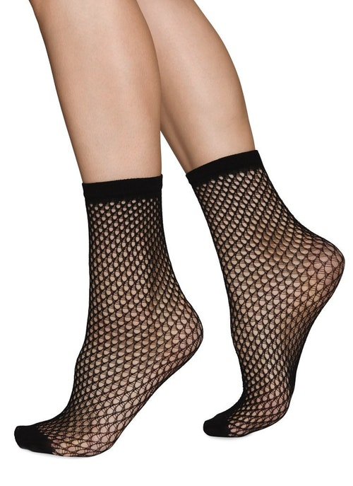Vera Black Swedish Stockings
