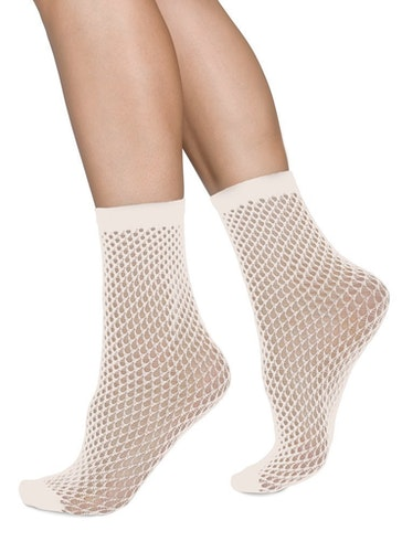 Vera Ivory Swedish Stockings