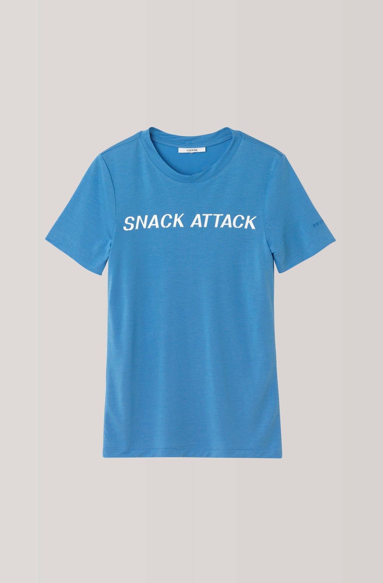 Linfield Lyocell T-shirt Ganni
