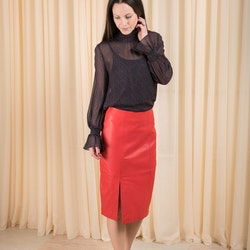 Beate Leather Skirt Just Female