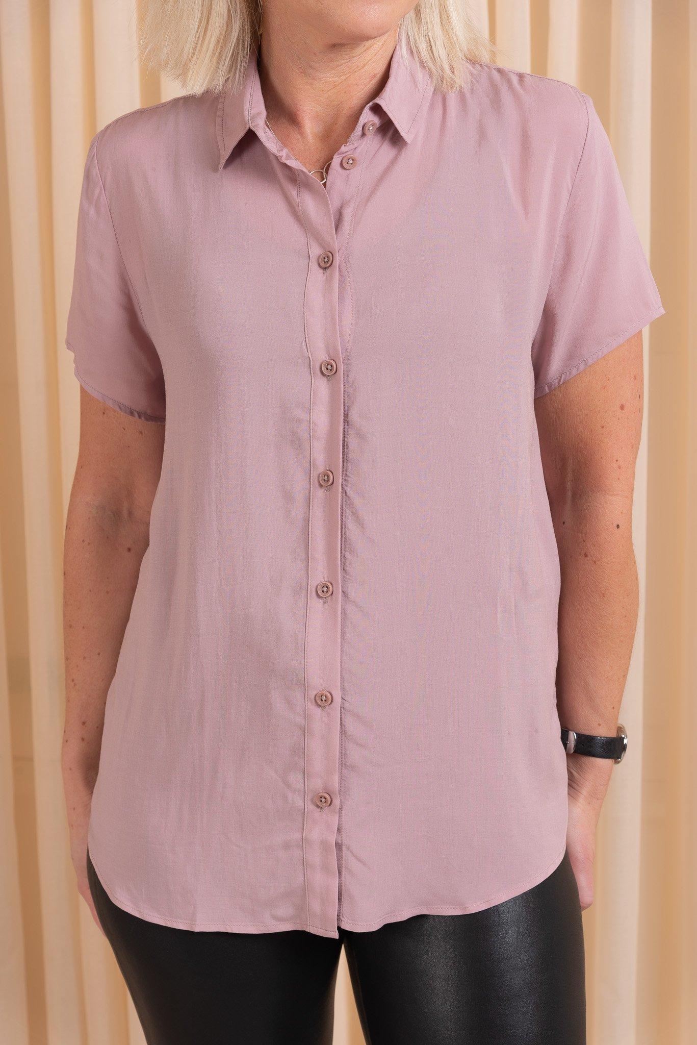 Maj Short Sleeve Shirt Samsoe Samsoe