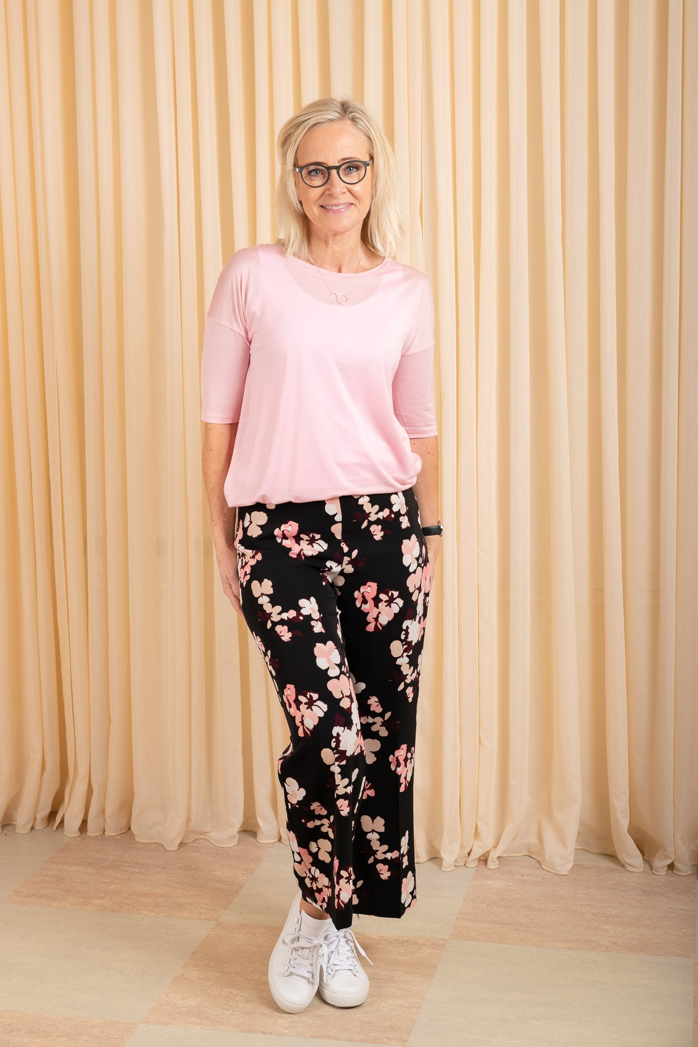 0fffc9f75ff9 Elbow Sleeve Swing Top Rose Bud Filippa K - Keep Co.
