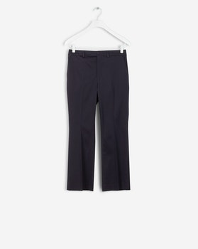 Hudson Cotton Cropped Trousers Filippa k