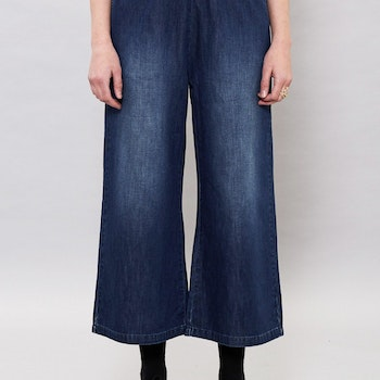 Abel Trousers Mid Indigo Dr Denim