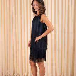 Clair Fringe Dress Twist & Tango