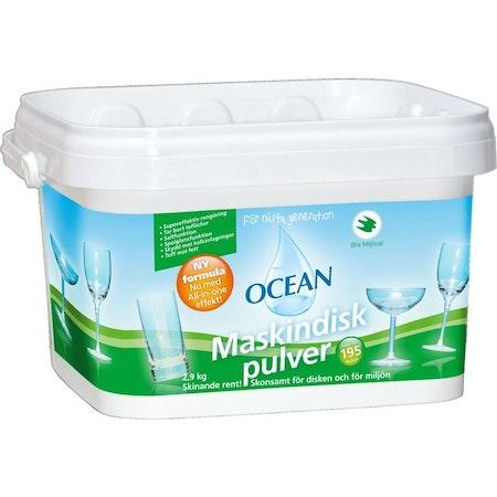 Ocean Maskindiskpulver 2,9kg