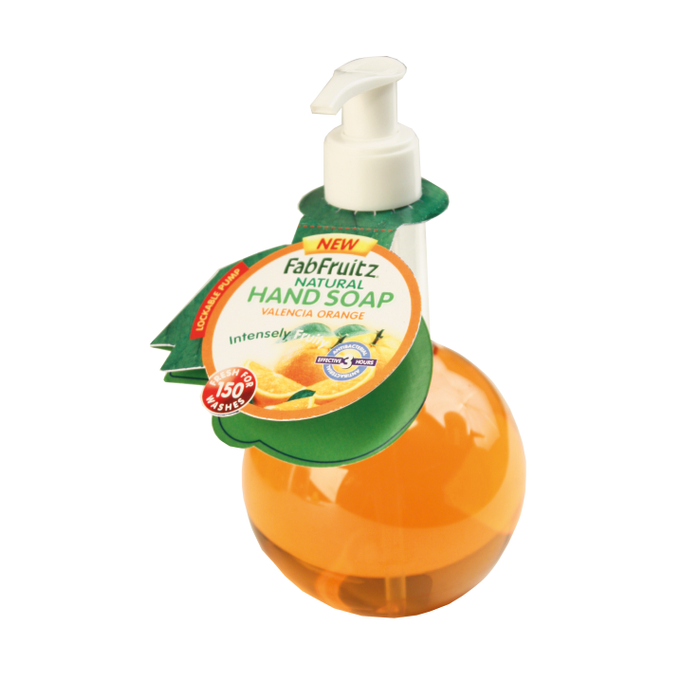 FabFruitz Hand Soap Valencia Orange 300ml