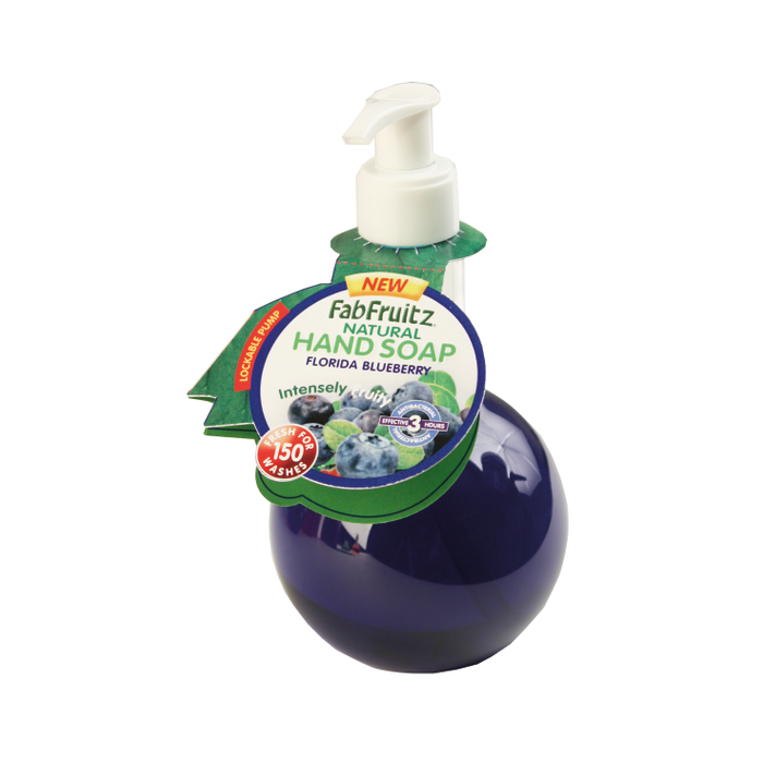 FabFruitz Hand Soap Florida Blueberry 300ml