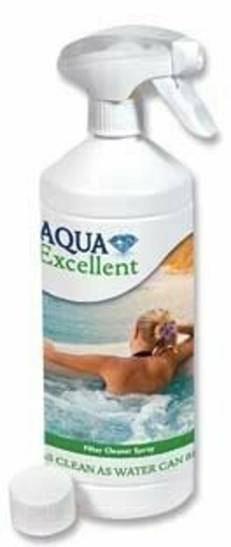 AQUA EXCELLENT FILTER CLEANER  SPRAY 0.5L