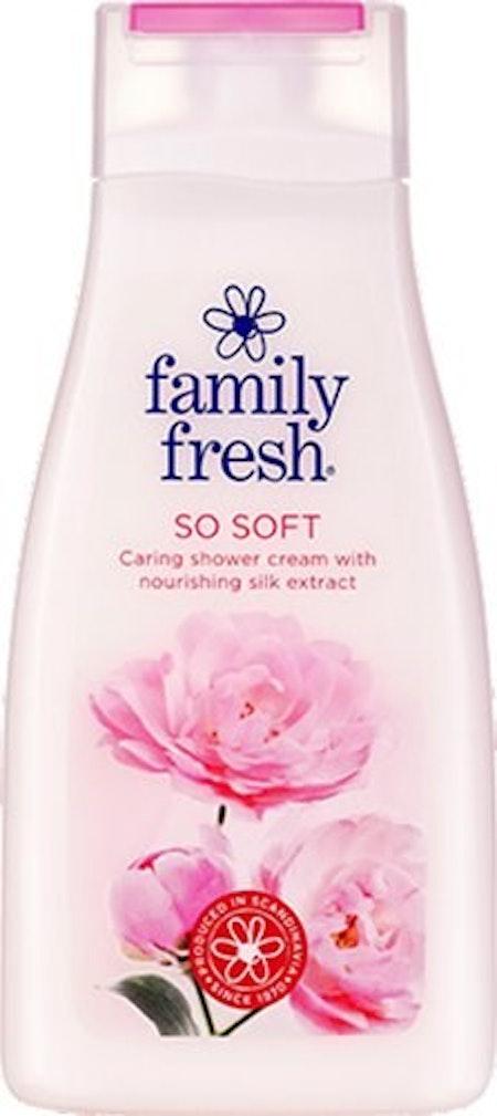 Flytande Tvål/Schampo Family Fresh So Soft