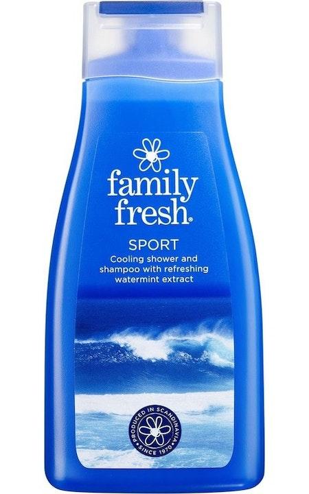 Schampo/Dusch Family Fresh sport