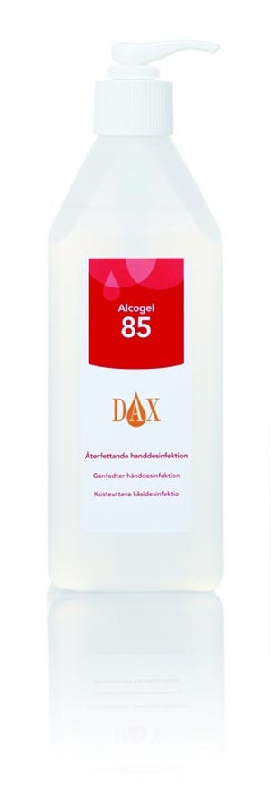 Dax Alcogel 600ml återfettande 85%