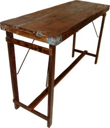 Vintage ståbord avlångt