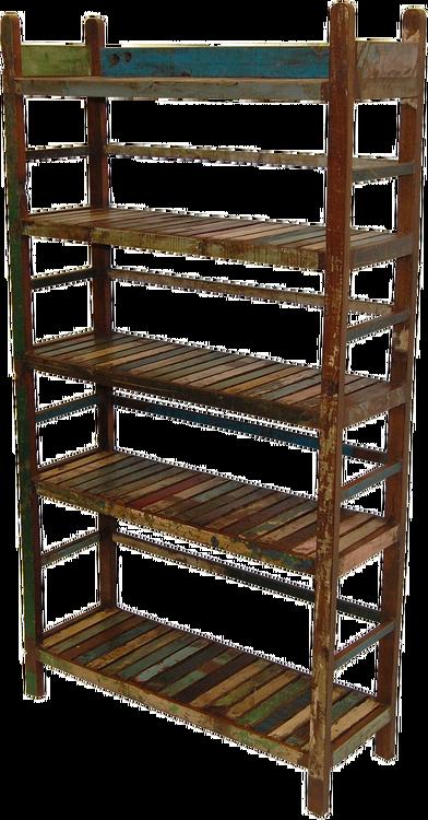 Vintage förvaringshylla