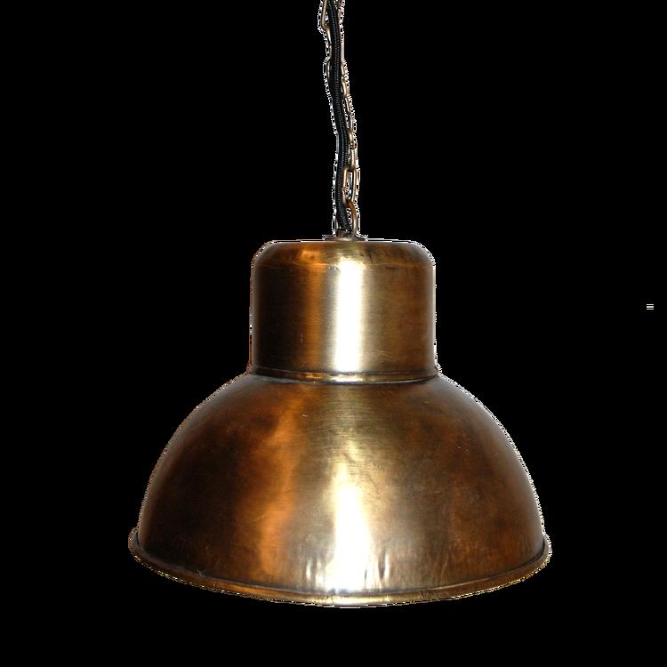 Mässing lampa