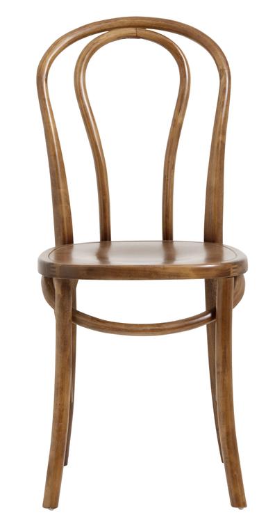 Trä betsad bistro stol