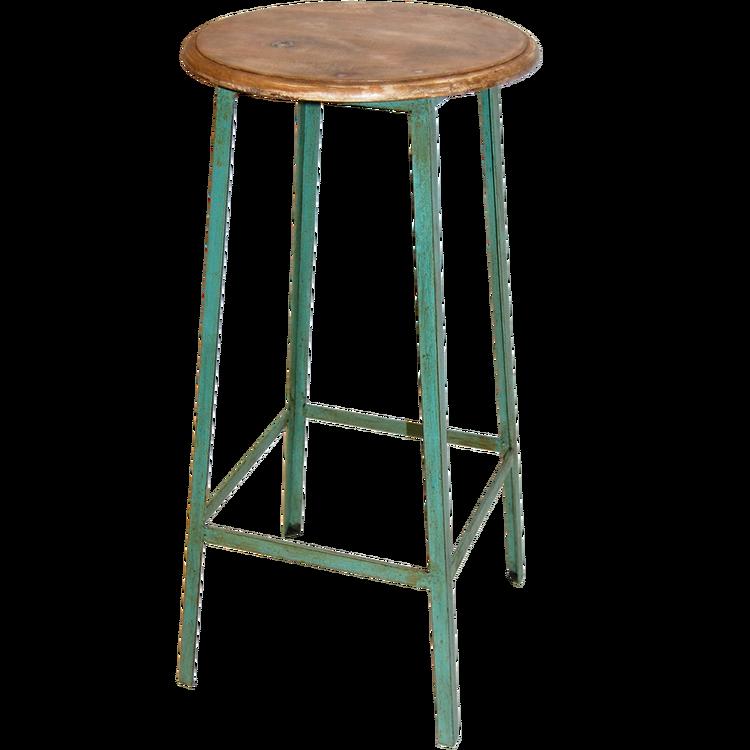 Mintgrön lantlig barstol