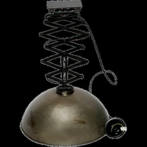 Metall fabriks taklampa med saxutdrag