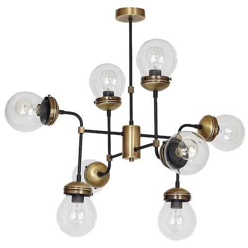 Hydro taklampa 8 ljuskällor