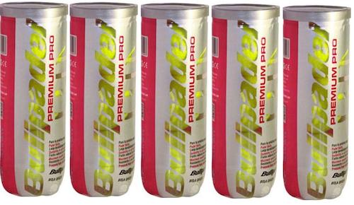 BULLPADEL - PREMIUM PRO - 5 st rör (3-pack)