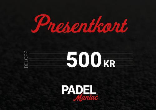 Presentkort - 500 kr