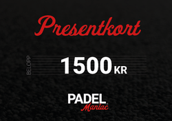Presentkort - 1500 kr