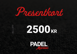 Presentkort - 2500 kr