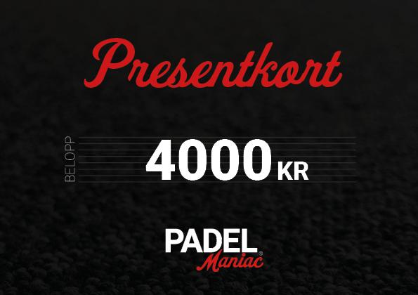 Presentkort - 4000 kr