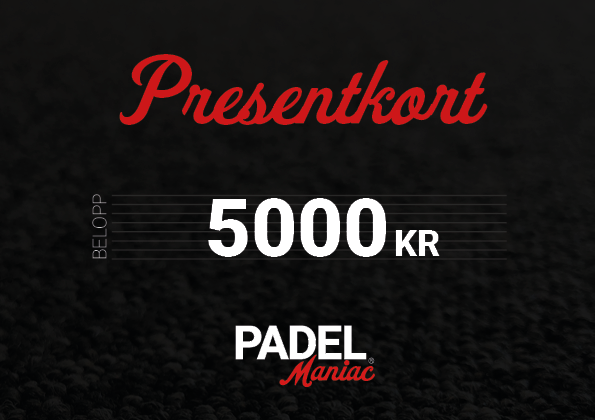 Presentkort - 5000 kr