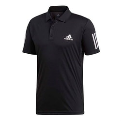 ADIDAS - 3-STRIPES CLUB POLO SHIRT SVART