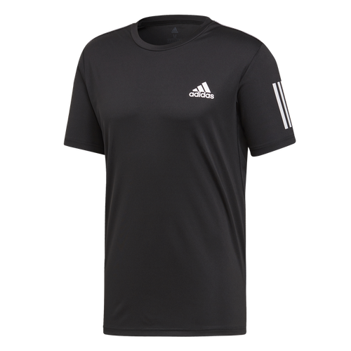 ADIDAS - CLUB 3 STRIPES TEE M SVART
